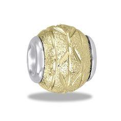 Gold Nugget Bead by DaVinci