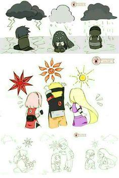 This is soooo cute!!! SasuSaku, NaruHina, & SaiIno