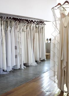 Gwendolynne Burkin's bridal showroom in Fitzroy.  Photo – Lucy Feagins / The Design Files.