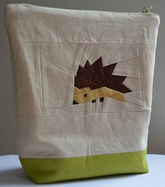 Paper Pieced Hedgehog!