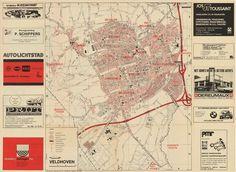 Komkaart van Veldhoven, Meerveldhoven, Oerle, en Zeelst. - 1996