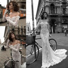 Vera Wedding Dresses Liz Martinez 2015 Spring Vintage Lace Mermaid Wedding Dresses With Sexy Off Shoulder Illusion Long Sleeve Applique Long Trumpet Bridal Gowns Gowns Dress From Flip_zone, $131.04  Dhgate.Com