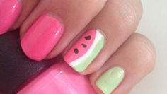 Manicure Maandag: zomerse watermeloen-nail art voor beginners - HLN.be