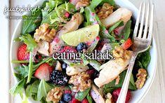 Healthy salad food fruits eat vegetables salad healthy health food cravings eats yummy food i love food Healthy Salads, Healthy Eating, Healthy Recipes, Healthy Food, Delicious Recipes, Yummy Food, Fast Recipes, Happy Healthy, Healthy Summer