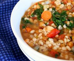 Cumin Lentil Barley Stew - from All Day I Dream About Food blog