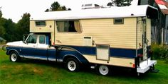 Truck Camper News: Rare tag-axle truck camper -- alive and well in Pennsylvania
