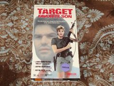 Target: Favorite Son (VHS, 1992) Rare OOP Vidmark! Hamlin/Kozlowski *NOT ON DVD*