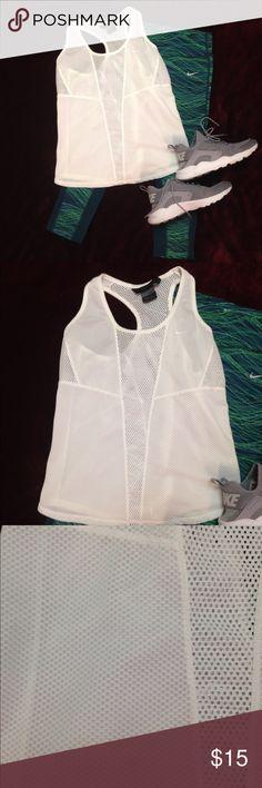 Nike Mesh Workout Tank Cool mesh workout tank. 90% polyester 10% spandex Nike Tops Tank Tops