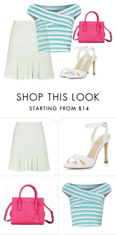"""""""nbjhnklm."""" by v-askerova on Polyvore featuring мода, Alexander McQueen, New Look, Kate Spade и Miss Selfridge"""