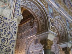 The Alcazar in Seville, Spain  (Picture taken by Emily Niedt)