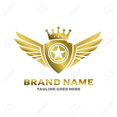 winged shield logo your company , Lion With Wings, Wings Logo, Kings Man, Shield Logo, Freedom Design, Corporate Branding, Background Templates, Prints For Sale, Logo Templates