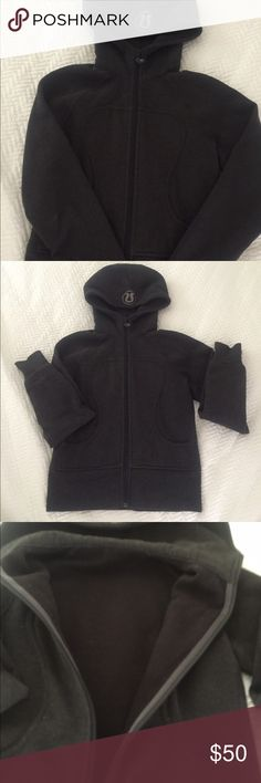 Lululemon hoodie Lululemon athletics heavy zipper hoodie.  Worn 1/2 dozen times.  Priced to sell as is.  Great condition lululemon athletica Jackets & Coats
