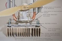DIY Wood Stove Fan for under $50 - All