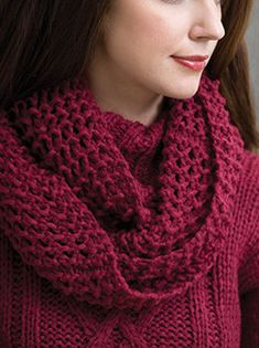 Wine Country Cowl in Tahki Yarns Aria