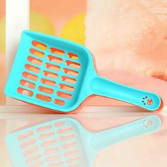 Cat Bright Plastic Litter Shovel Buy A Cat, No Plastic, Litter Box, Shovel, Cats And Kittens, Kitty, Pets, Cleaning Products, Boxes