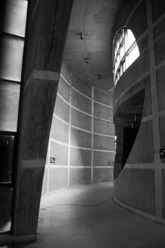 Louis Kahn & Naquib Hossain. National Assembly Building of Bangladesh. Interior. When I saw this building in the movie of Louis Kahn's life directed by his son I was struck by the quality of light as it moves through the building and how the light and shadows redefine the interior.