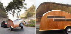 Der Hütte Hut Trailer von Sprouting Sprocket Studio - wildcrumbs