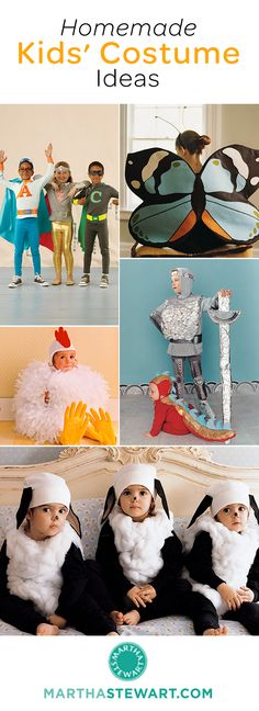 51+ homemade kids' Halloween costume ideas.