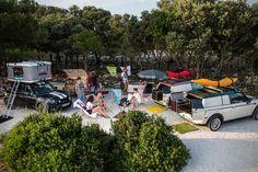 BMW Mini Camper Concepts