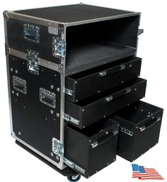 ATA Kent Custom Road Case Production Tech Box Guitar Repair Utility Tour Table #KentCustom