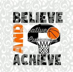 Basketball SVG Ball and Hoop Quote for Silhouette or other craft cutters (.eps) Basketball SVG Ball and Hoop Quote for Silhouette or other craft cutters (. Basketball Signs, Basketball Decorations, Basketball Motivation, Basketball Videos, Basketball Tricks, Basketball Posters, Basketball Workouts, Basketball Quotes, Love And Basketball