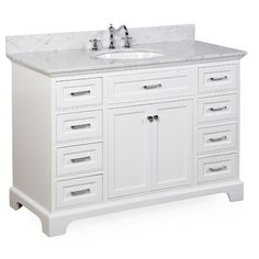 Magick Woods 41 Quot Concord Collection Vanity Ensemble At Menards Home In 2019 Menards Bathroom