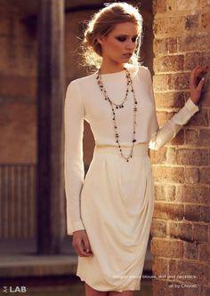 Chanel. Soft, simple, feminine.