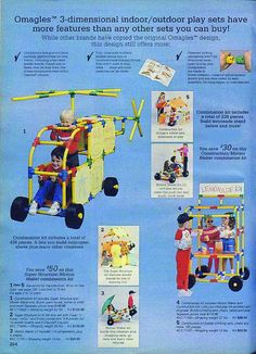 Omagles- very cool toys to help children create cool structures and machines! I had them as a kid and loved them. My boys are getting these this year!