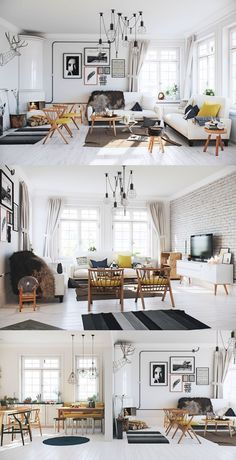 luxury scandinavian living room