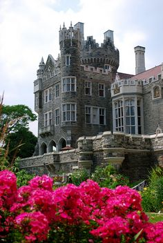Garden view of Casa Loma in Toronto, Canada   #travel.  would love to tour this castle.