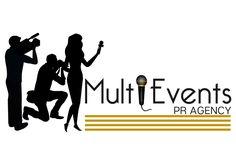 Proiect finalizat: Logo - MultiEvents PR Agency 😉 | Bucuresti, Romania  Advertiser, UI & UX Designer Roxana Ionel 💻  office@expoanunturi.ro | 0734403752  Portofoliu: www.expoanunturi.ro/portofoliu Ui Ux Design, Advertising, Logos, Logo