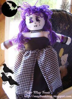vampira, rag doll