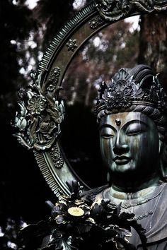 Kongo Bosatsu statue at Ninna-ji temple, Kyoto, Japan