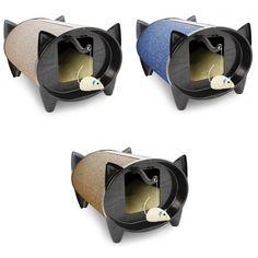 SkratchKabin Indoor Kennel Style Bed for Cats