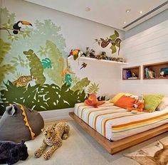 Inspiração ♡ #interiores #design #interiordesign #decor #decoração #decorlovers #archilovers #inspiration #ideias #dormitórioinfantil #quartoinfantil #bedroom #kidsroom #quartodemenino