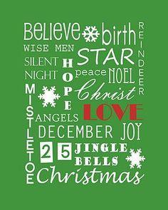 Very Merry Christmas Printable | Beautiful and fun Christmas craft!