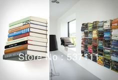 5PCS/LOT Magic Invisible bookshelf, wall bookcase bookshelf , living room furniture Christmas gift US $36.00