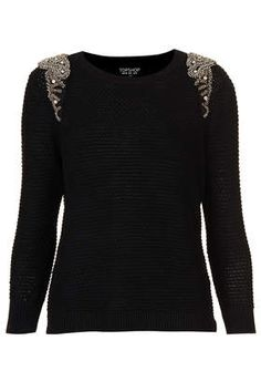 Hanna's stakeout sweater in black...white is sold out!