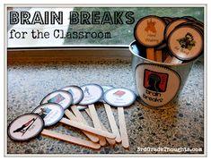 3rd Grade Thoughts: Brain Breaks