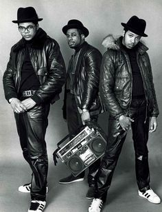 Run DMC 1980's. was an American hip hop group