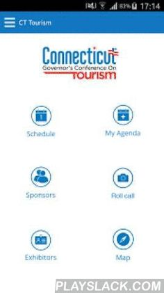 CT Tourism Conference  Android App - playslack.com , The Connecticut Conference on Tourism is an annual event providing educational and networking opportunities to tourism operators, travel and leisure organizations, industry partners and businesses throughout the state of Connecticut. Offering substantive seminars and featuring renowned guest speakers addressing topics of relevance to the industry, the Conference celebrates tourism in Connecticut. The Connecticut Conference on Tourism is a…