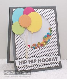 Hip Hip Hooray - MFT July Release Countdown, Day Three by Bar - Cards and Paper Crafts at Splitcoaststampers