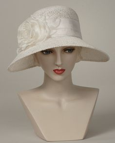 9413HLOW Helena, natural – Louise Green Millinery