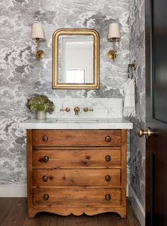 In Good Taste: Marianne Simon Design - Design Chic Design Chic #bathroomvanities