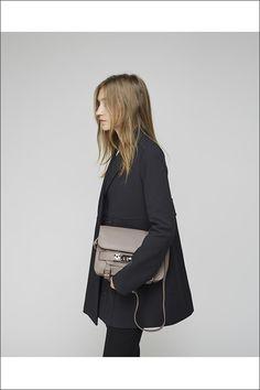 PROENZA SCHOULER | SWING COAT + TAUPE PS11 BAG