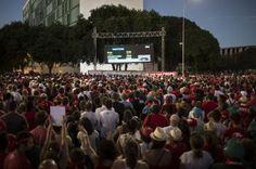 La presidente de Brasil, Dilma Rousseff, es acusada de ocultar la situación real financiera del país