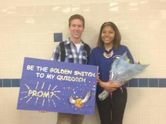 I got asked to prom in the most perfect way. Harry potter promposal.  #promposal…