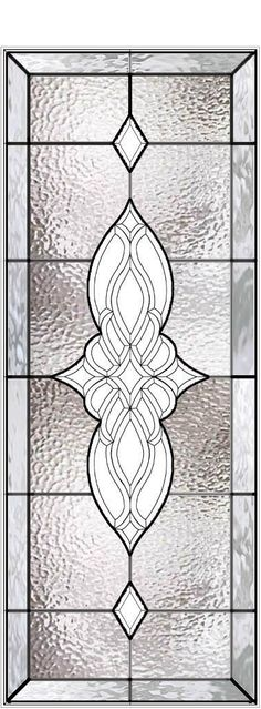 Stained glass insert for my front door from the Scottish Stained Glass company.