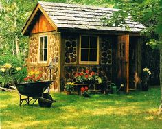 Brick shed ideas 12x20 shed storage shed for the home for Self sufficient cabin kits