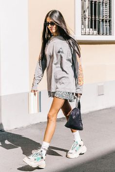 Shop the clothing items fashion girls are loving right now, including the best white sneakers and spring's must-have accessory.
